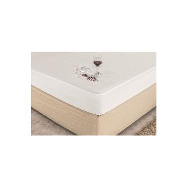 Imagem de Capa Protetor Impermeavel De Colchão Queen Liso Tambem Para Cama Box