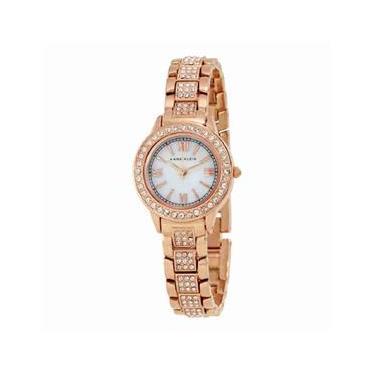 a5f67e9d504 Relógio Feminino Anne Klein Mother of Pearl Dial - Modelo ANK-1492MPRG A prova  d