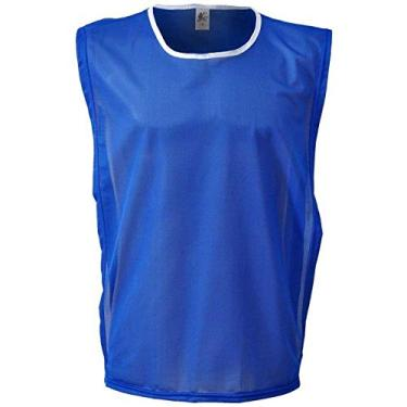 Imagem de Colete Esportivo de Futebol - Cor Azul Royal - Kanga Sport