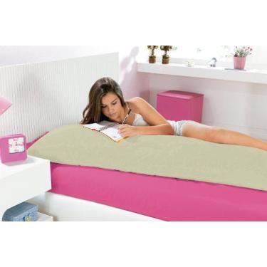 Imagem de Capa Para Travesseiro Fofuxão Percal 140 Fios - Verde - Do Lar Decoraç
