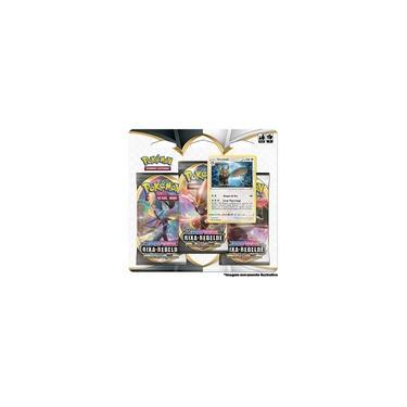 Imagem de Deck Pokémon - Blister Triplo - Espada e Escudo - Carta Noctowl - Copag