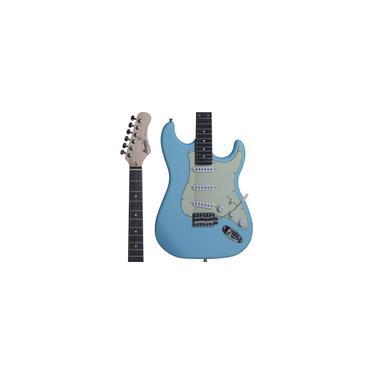 Imagem de Guitarra Strato Memphis By Tagima MG30 Sonic Blue Satin