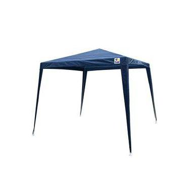 Gazebo Dobravel 3x3 M Bel Fix Azul