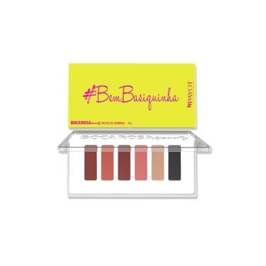 Paleta De Sombras #bembasiquinha Boca Rosa Beauty Payot - 1 Unidade