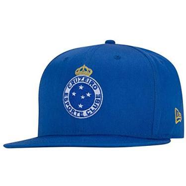 Boné New Era 940 Cruzeiro Futebol - Azul