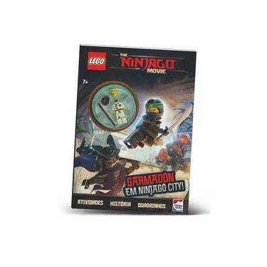 Lego The Ninjago Movie - Garmadon Em Ninjago City - Lego - 9788595031852