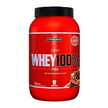 963be7d53 Super Whey 100% Pure 907g Chocolate Body Size - Integralmédica