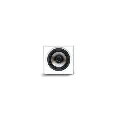 Caixa Acústica Quadrada AAT Q5-100AL 1 Woofer 5 Tweeter Coaxial 1 100W RMS 8 Ohms Branco