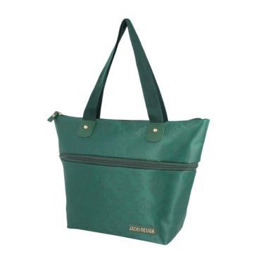 Bolsa Expansivel Tam. P Damasco Jacki Design Essencial II Verde  feminino