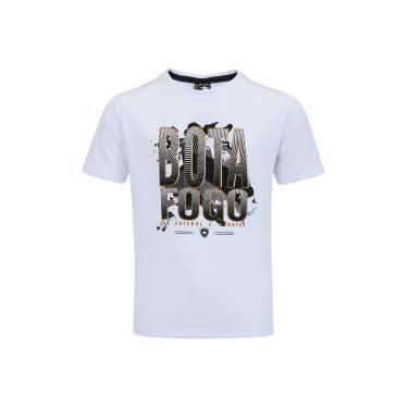 Camiseta do Botafogo Brick - Infantil - BRANCO Braziline 956784fc8f969