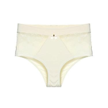 9b1a5fc8c Calcinha Loungerie Cintura Alta Renda Maternity Off-white