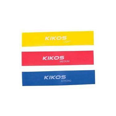 Kit De Faixas Elásticas 3 Tensões Kikos