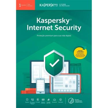 Antivirus Kaspersky Internet Security 2019 Multidispositivos 1 PC - 1 Licença
