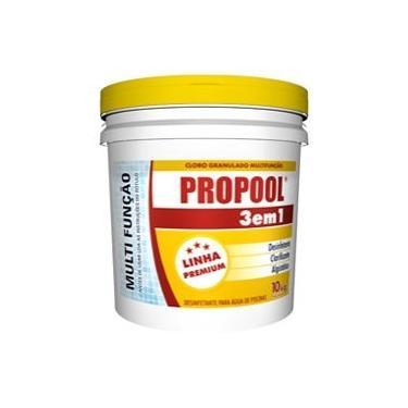 Imagem de Cloro Granulado 3 em 1- balde 10kg - Propool