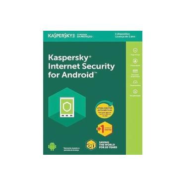 Kaspersky Internet Security para Android 1 Dispositivo 1 ano Versão 2021
