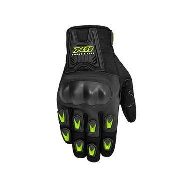 Luva X11 Blackout Verão Motociclista Proteção Tamanho P