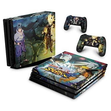 Skin Adesivo para PS4 Pro - Naruto Shippuden: Ultimate Ninja Storm 4