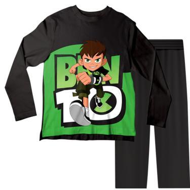 Pijama Infantil Ben 10 Pjml