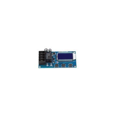 Potente automático com visor lcd, módulo de controle de bateria durável, interruptor de controle de carga da bateria, para bateria de 6-60V