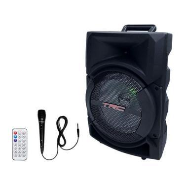 Caixa de Som TRC 5522 Bluetooth Amplificada 220W - USB