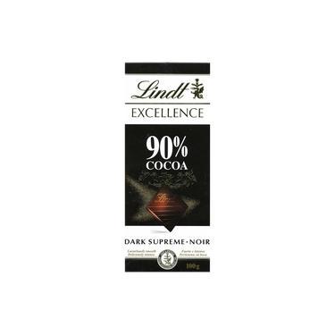 Chocolate Suíço Lindt Excellence 90% Cacau Dark 100g