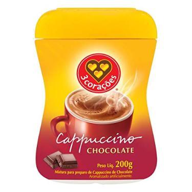 Imagem de Cappuccino, Chocolate, Pote, 200g, 3 Corações