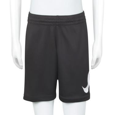 be64e3e30 Shorts Nike Infantil Dry Grafite Azul e Branco