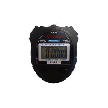 6de4f6102e0 Cronômetro Progressivo Digital Relógio Alarme Data SportWatch - XL-021