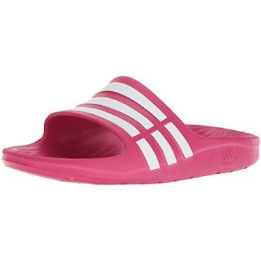 Chinelo Adidas Duramo Slide Infantil - Rosa - 32/33