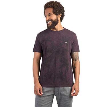 T-Shirt Estampada Flamê Vinho VINHO GG a2c503ead7b