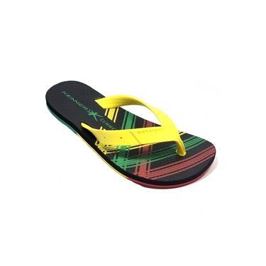 Chinelo kenner summer jam tbp - amarelo