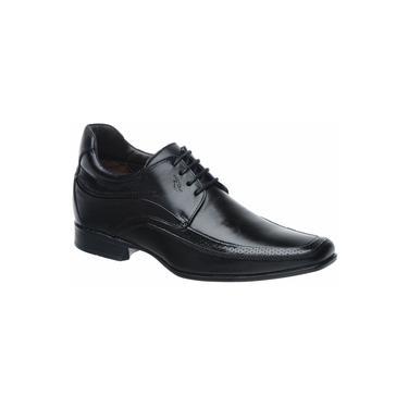 Sapato Rafarillo Vegas Alth 3206 Você + Alto 7cm Couro Preto