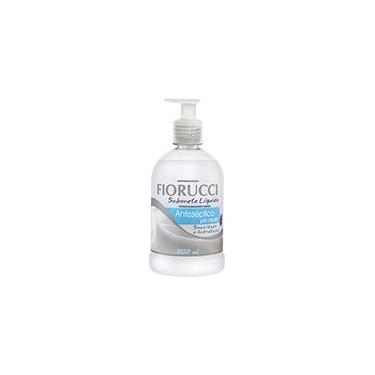 Sabonete líquido antisséptico pH neutro 500ml 8119 Fiorucci PT 1 UN