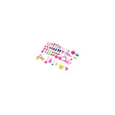 Imagem de 55 Unidades/pacote Bonecas Acessórios Sapatos Roupas Cabides Bolsa Para Bonecas Barbie