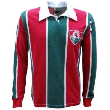 Camisas de Times de Futebol Casuais Fluminense Liga Retrô  68cac94a48534