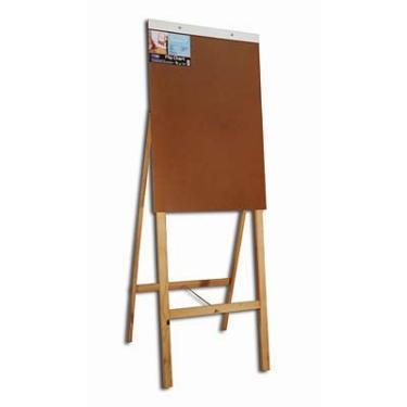 Imagem de Cavalete flip-chart em madeira duratex Cortiarte CX 1 UN