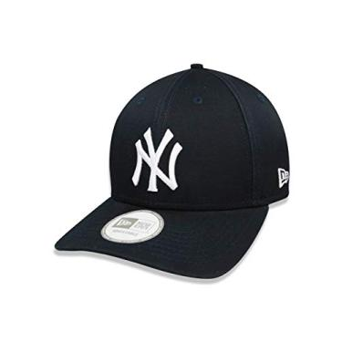BONE 9FORTY ABA CURVA AJUSTAVEL MLB NEW YORK YANKEES ABA CURVA MARINHO NEW ERA