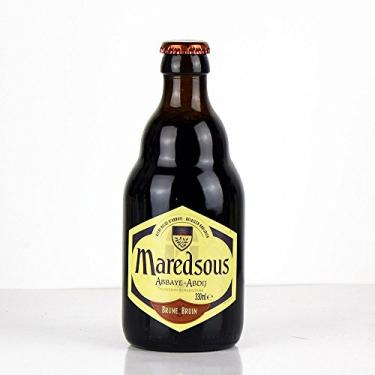 Cerveja Maredsous Brune 8 Bruin Long Neck 330 ml