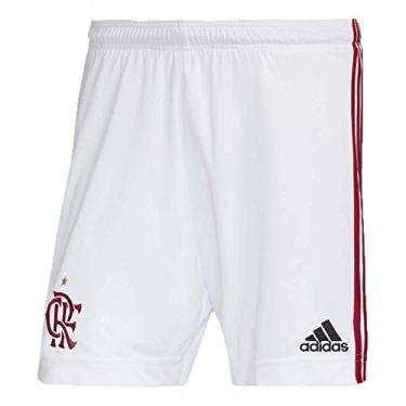 Short Flamengo CRF Adidas Branco 2020 ED9170 (G)