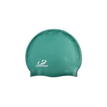 Touca de silicone lisa Hammerhead / Verde metálico
