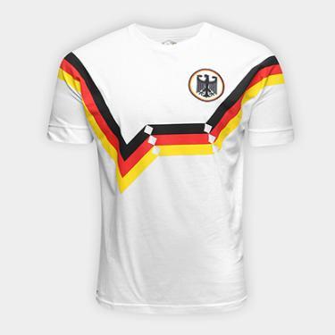 Camiseta Alemanha 1990 Retrô Times Masculina - Masculino ecebb6348fb0b