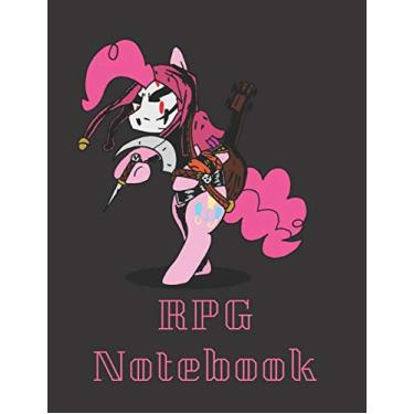 """RPG Notebook: Mlp Darkest Dungeon Edition - Mixed paper: Hexagon, Dot Graph, Dot Paper, Pitman: For role playi ng gamers: Notes, tracking, mapping, terrain plans (8.5"""" x 11"""" - A4 Size, 150 Pages)"""