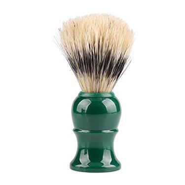 Imagem de Romacci Pincel de barbear para barba Pincel de plástico para bigode para barbear ferramenta de barbear para penteados de barba