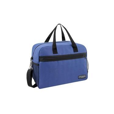 Imagem de Bolsa Carteiro Masculina Urbano Azul Jacki Design