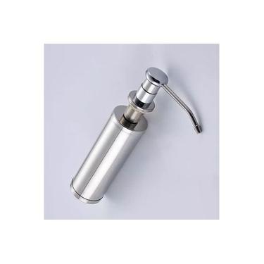 Imagem de Dosador De Detergente Para Embutir Porta Detergente Aço Inox