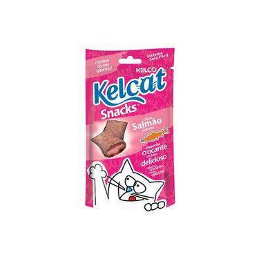 Kelcat Snack Salmão Kelco - 40 G