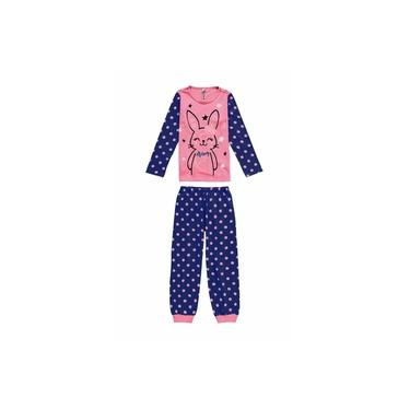 Pijama Infantil Feminino Inverno Lilás Bunny Malwee
