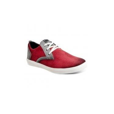 Sapatênis masculino sandro moscoloni sned 036 cereja red -