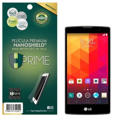 Pelicula HPrime NanoShield para LG Prime Plus H502 (Magna), Hprime, Película Protetora de Tela para Celular, Transparente