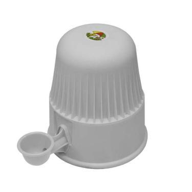 Bebedouro Vida Mansa Light Polipropileno PP Branco para Raças Pequenas - 2 L